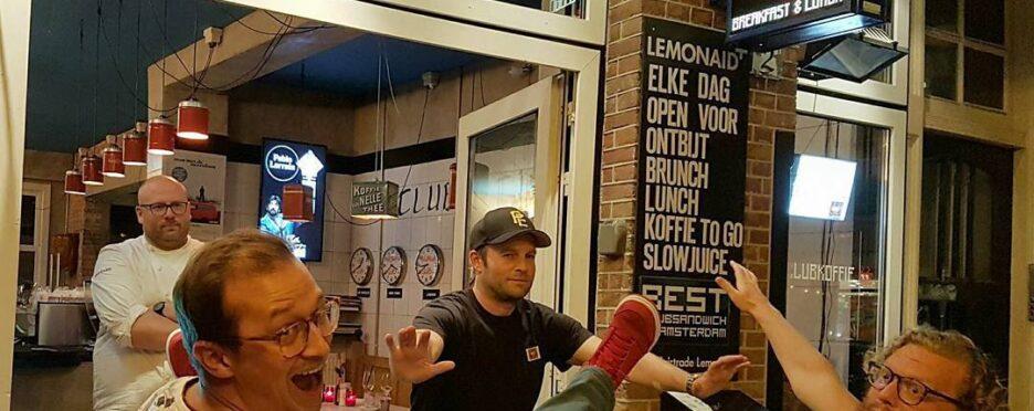 La Perla Amsterdam Jordaan Cityguys Pizzabiketour